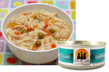 Weruva Funky Chunky Chicken Soup Cat Food  Can, 5.5 oz.