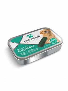 Pet ReLeaf CBD Hemp Oil Capsules - 150 mgs.