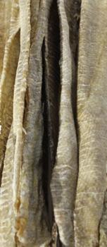 """Icelandic+ Cod Long Skin Strips (approx. 20"""" long)"""