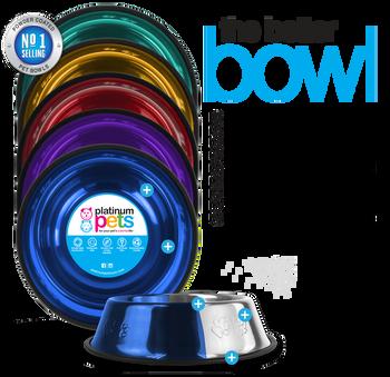 Platinum Pets Non-Tip Bowls, Small