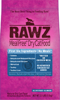 Rawz Salmon/Chicken/Whitefish Cat Kibble (Choose size to view price)