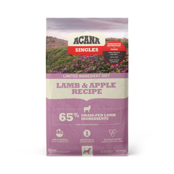 Acana Singles Lamb & Apple Dog Food (choose size to view pricing)