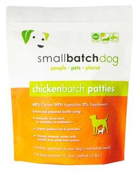 Small Batch Chicken Sliders for Dogs, 3 lb.