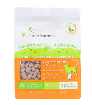 Small Batch Freeze Dried Chicken Bites, 7 oz.