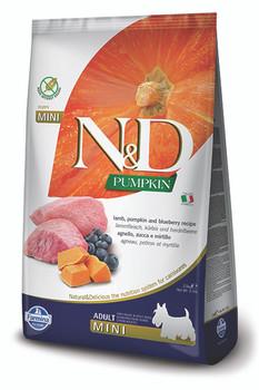 Farmina N&D Lamb, Pumpkin & Blueberry Dog Food, Mini Size, 5.5 lb.