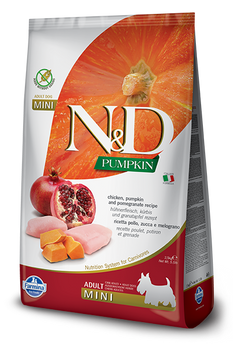 Farmina N&D Chicken Pumpkin & Pomegranate, Med/Maxi Size, 26.4 lb. lb.
