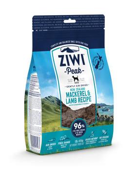 Ziwi Peak Air Dried Dog Food, Mackerel and Lamb, 1 lb.