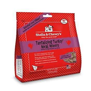 Stella & Chewy's Tantalizing Turkey Meal Mixers for Dogs, 18 oz.