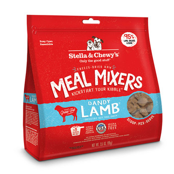 Stella & Chewy's Dandy Lamb Meal Mixers for Dogs, 18 oz.