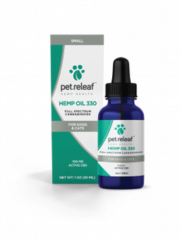 Pet ReLeaf CBD Hemp Oil 330 (100 mg)