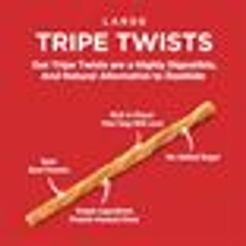 Barkworthies Tripe Twist, Large