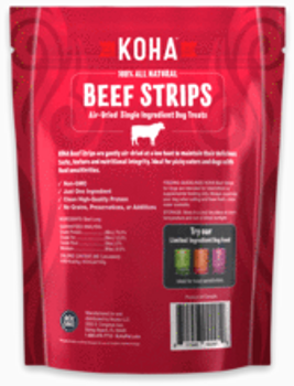 Koha Beef Strips, 3.25 oz.