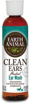 Earth Animal Clean Ears Herbal Ear Wash, 4 oz.