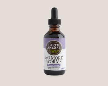 Earth Animal Organic Herbal No More Worms, 2 oz.