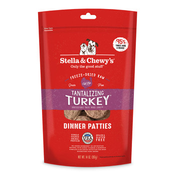 Stella & Chewy's Tantalizing Turkey Dinner Patties for Dogs, 14 oz.