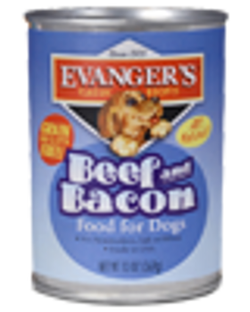 Evanger's Beef and Bacon, 20 oz.