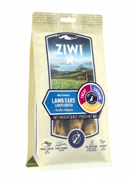 Ziwi Peak Liver Coated Lamb Ears, 2.1 oz