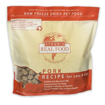 Steve's Freeze Dried Pork Nuggets, 1.25 lb.