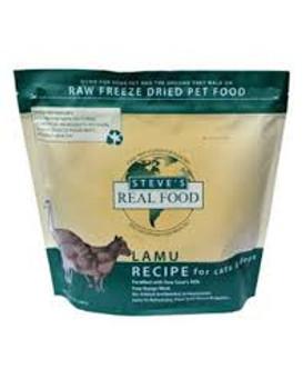 Steve's Freeze Dried Lamu Nuggets, Dog or Cat, 1.25 lb.