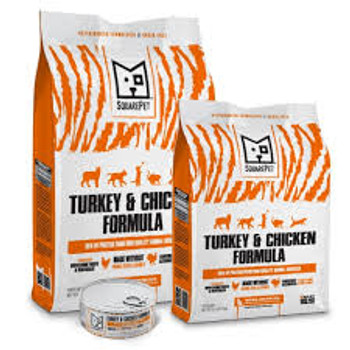 SquarePet Turkey & Chicken Formula Cat Food, 4.4 lbs.