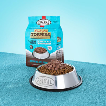 Primal Market Mix Topper Sardine 5 Lb