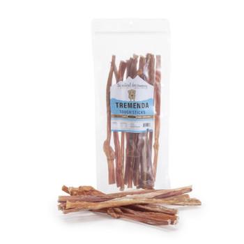 "The Natural Dog Company 12"" Tremenda Tough Sticks, 8 oz. package"