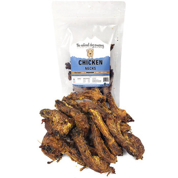 The Natural Dog Company Chicken Necks, 8 oz. package