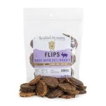 Natural Dog Company Venison Flips, 8.5 oz