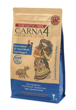 Carna4 Baked Cat Food, Chicken, 4 lb.
