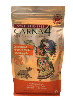 Carna4 Baked Cat Food, Fish, 4 lb.
