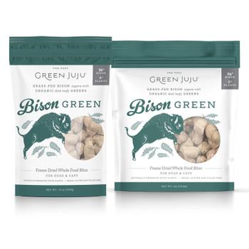 Green Juju Bison Green Freeze Dried Bites,  6 oz.