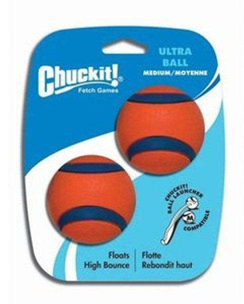 Chuckit Ultra Ball (2 pack), Med