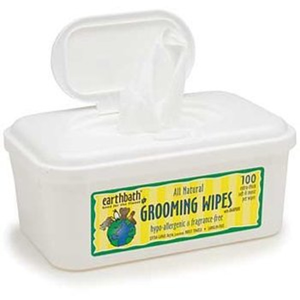 Earthbath Grooming Wipes (100 ct)