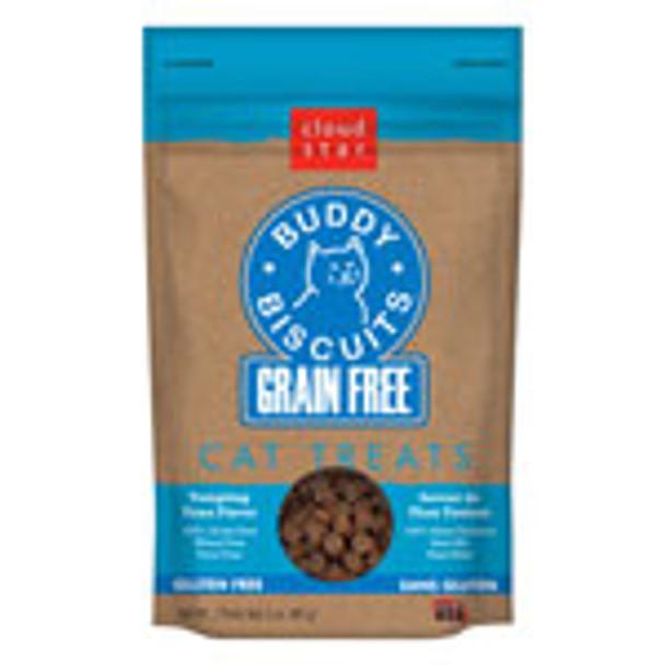 Buddy Biscuits Grain Free Soft Cat Treats - 3 oz (choose Flavor)