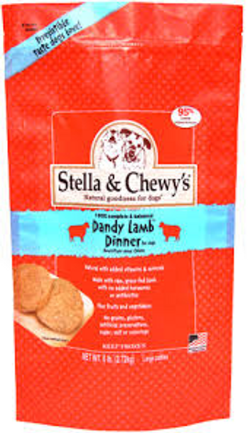 Stella & Chewy's Dandy Lamb Raw Frozen Dinner for Dogs (Choose Size to View Price)