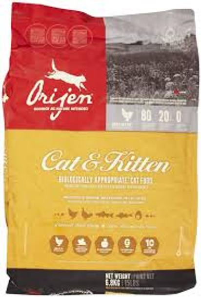 Orijen Cat and Kitten (4 lb.)
