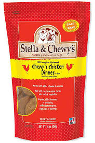 Stella & Chewy's Chicken Raw Frozen Dinner for Dogs (Choose Size to View Price)