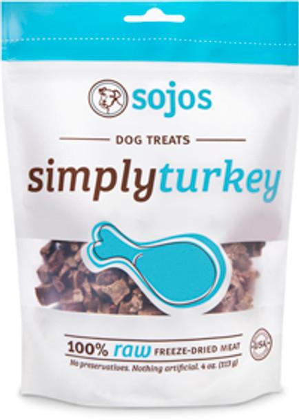 Sojos Dog Treats, Simply Meat Turkey Treats (4 oz.)