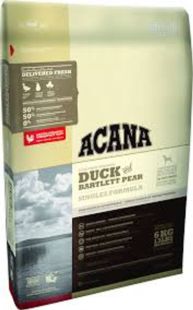 Acana Singles Duck and Bartlett Pear Dog Food (choose size to view pricing)