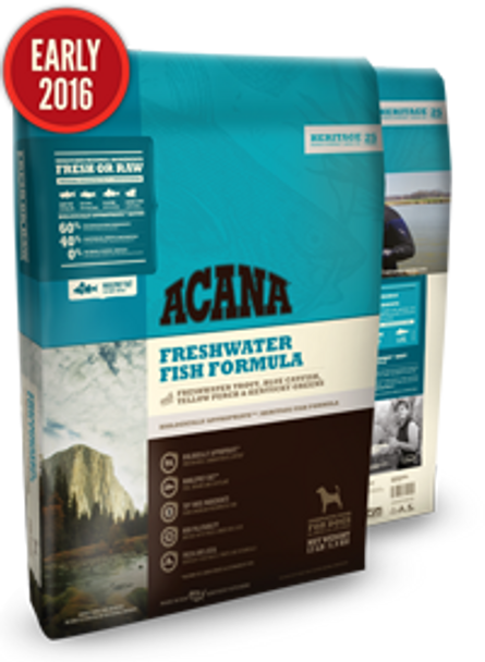 Acana Heritage Freshwater Fish for Dogs (Choose size to view price)
