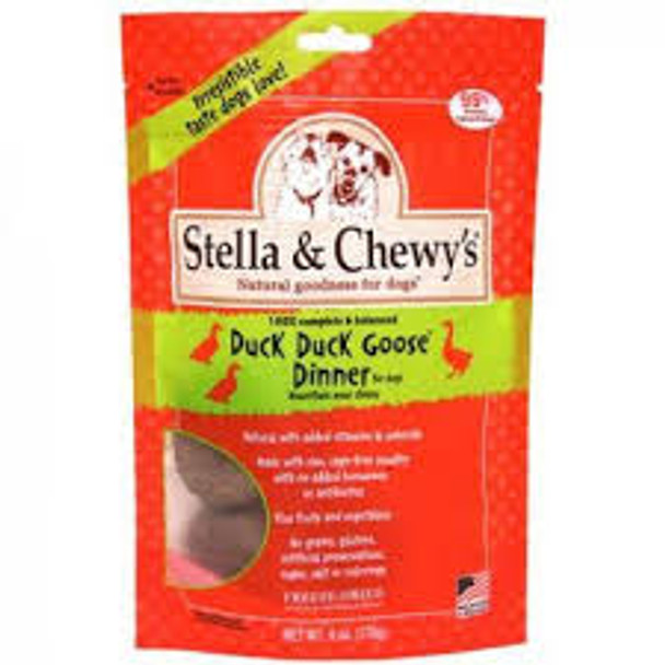 Stella & Chewy's Duck Duck Goose Raw Frozen Dinner for Dogs (Choose Size to View Price)