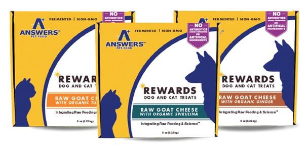 Answer's Rewards Goat Cheese Treats, 8 oz. (Choose Flavor)