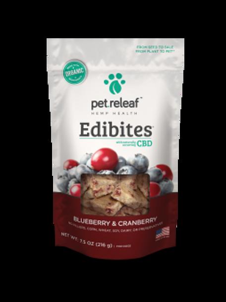 Blueberry/Cranberry CBD Hemp Oil Edibites, 7.5 oz.