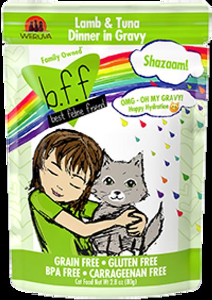 BFF OMG - Shazaam Lamb & Tuna Cat Food Pouch, 2.8 oz.
