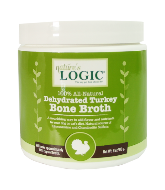 Nature's Logic Dehydrated Turkey Bone Broth (Choose size to view price)