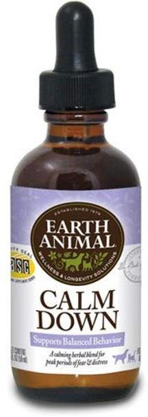 Earth Animal Calm Down Herbal Remedy, 2 oz