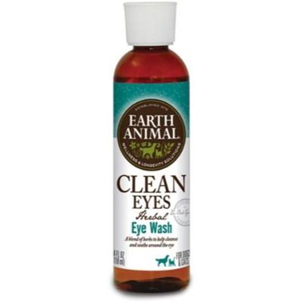 Earth Animal Clean Eyes Herbal Eye Wash, 4 oz.