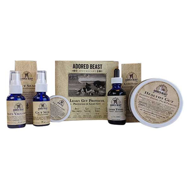 Adored Beast Leaky Gut Protocol (5 products)