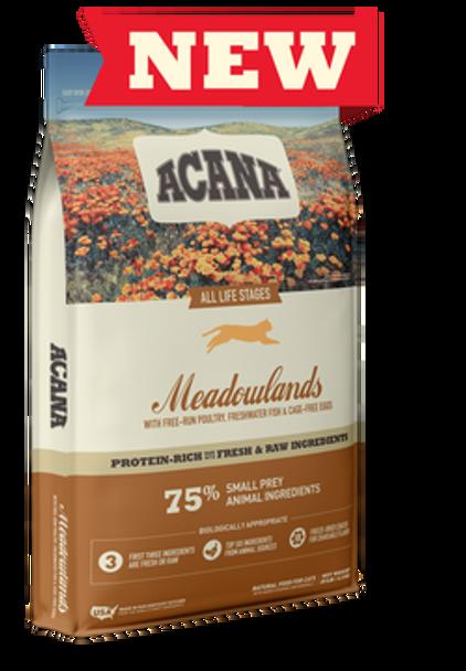 Acana Meadowland Cat Food, 4 lb.