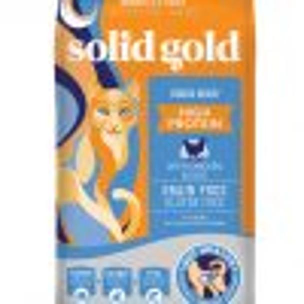 Solid Gold Indigo Moon Cat, 6#